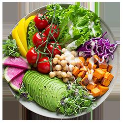 PIANI NUTRIZIONALI PER VEGETARIANI E VEGANI